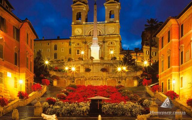 Лестница в Риме